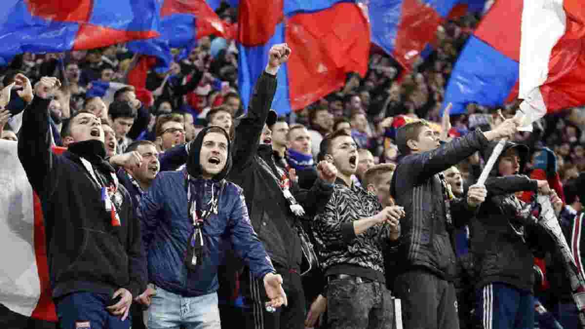 Ультрас Ліона та Сент-Етьєна влаштували масове побоїще перед матчем Ліги 1