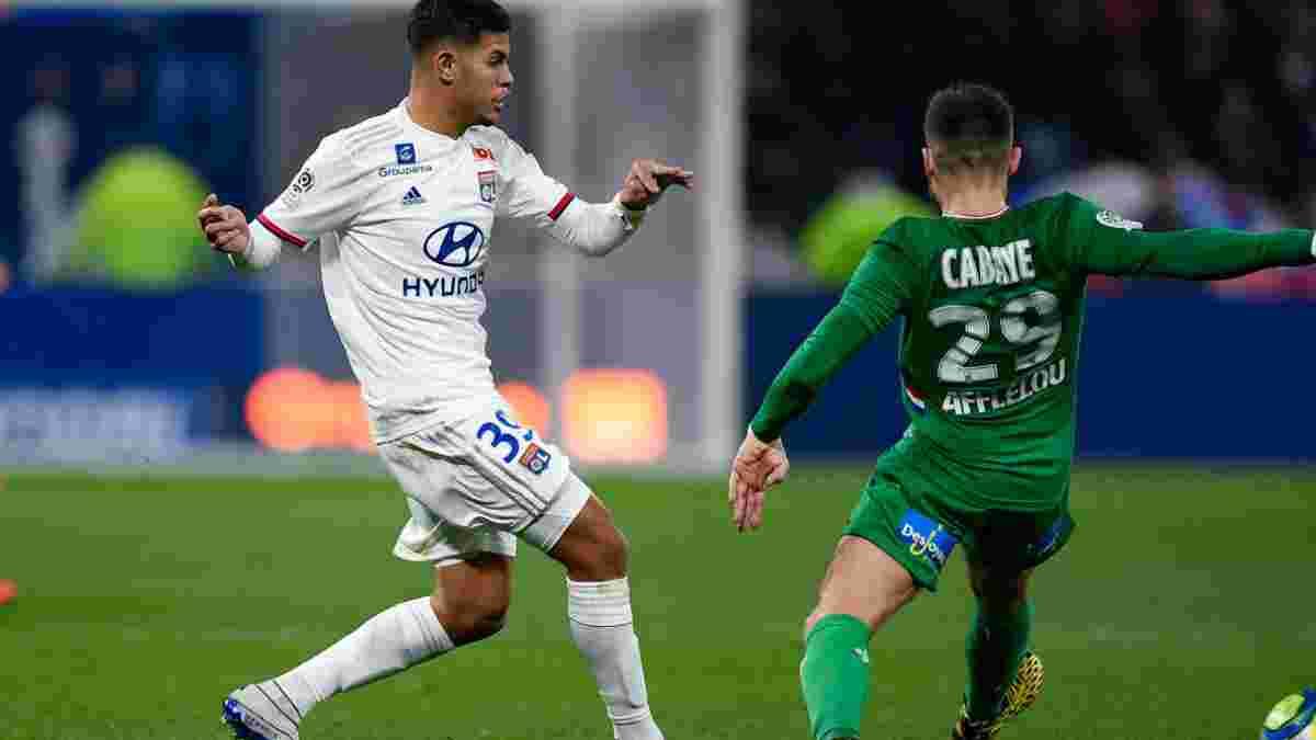 Лион победил Сент-Этьен в дерби, роскошный гол ударом через себя: Лига 1, воскресенье