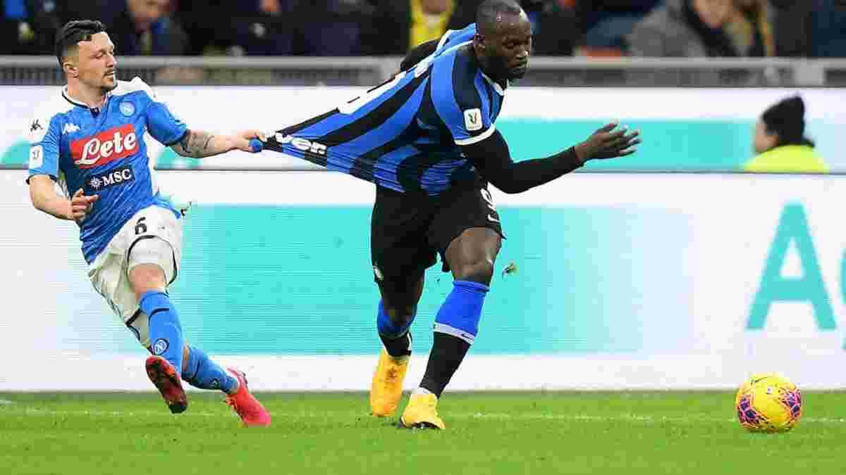 Наполі – Інтер: матч Кубка Італії перенесений через коронавірус