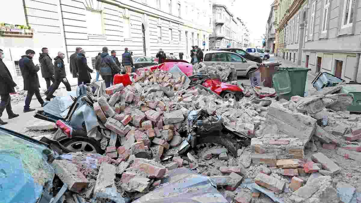 """""""Ці сцени нагадують мені Сараєво під час війни"""". Загреб зруйнований землетрусом, фани Динамо З допомагають постраждалим"""