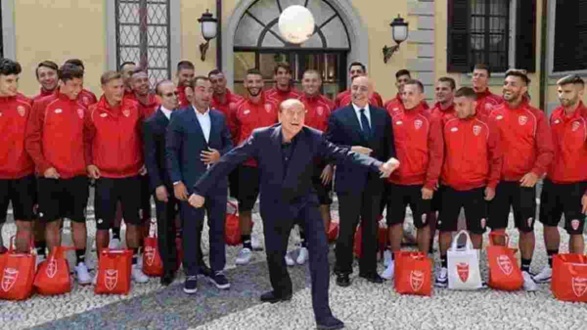Берлусконі підвищив Монцу в класі у свій дебютний сезон