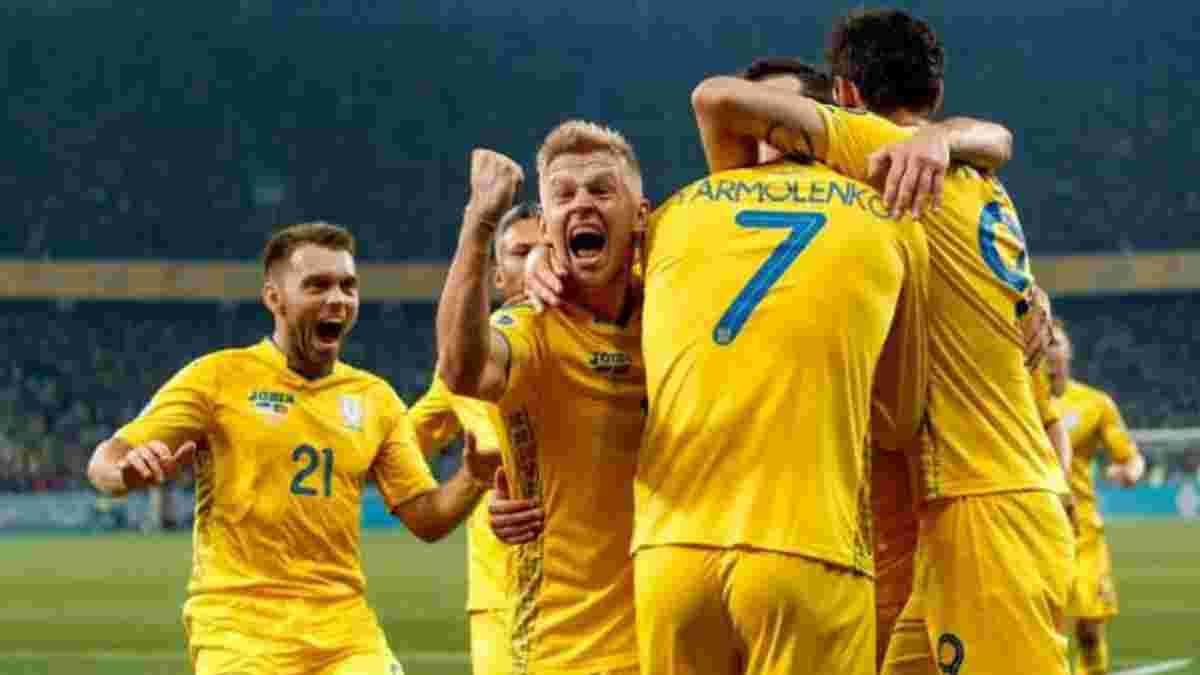 Євро-2020: УЄФА оприлюднив дати матчів збірної України