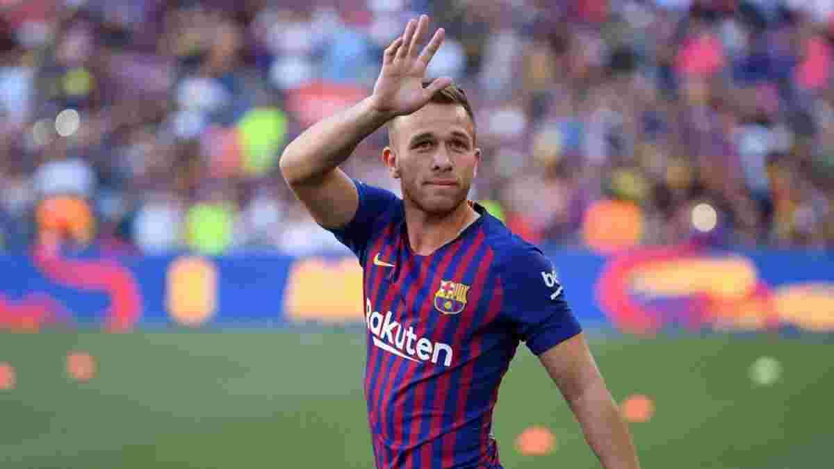 Артур отказывается завершать сезон в Барселоне
