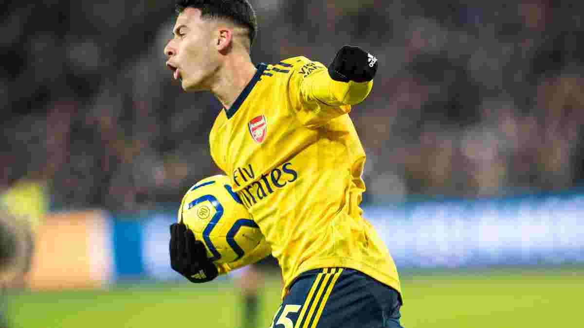 Мартинелли подписал новый контракт с Арсеналом