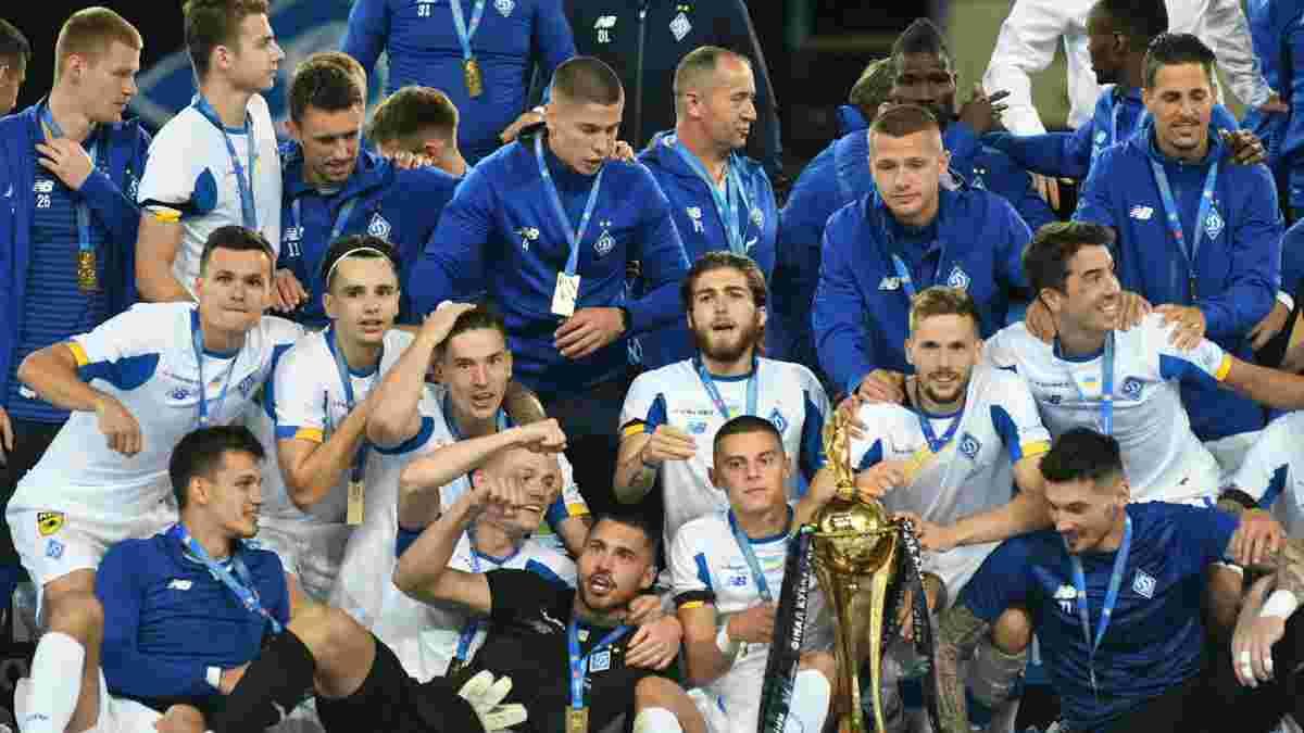 Динамо снова догнало Шахтер по количеству трофеев в период независимой Украины