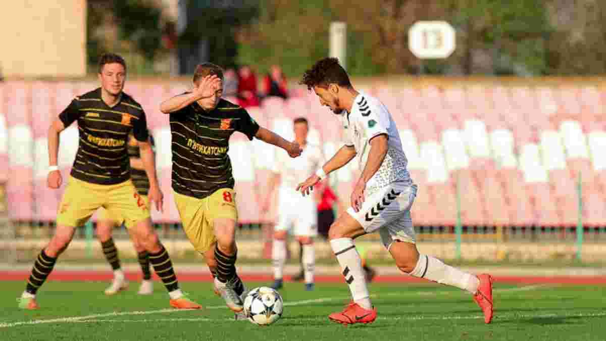 Первая лига: Ингулец обыграл Волынь благодаря голу ударом через себя на первой минуте, боевая ничья Черноморца и Руха