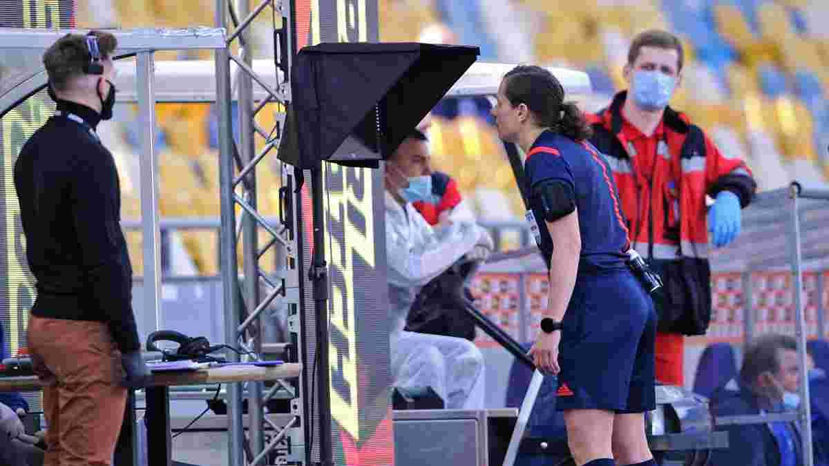 Саленко: Жінку не можна було пускати в футбол