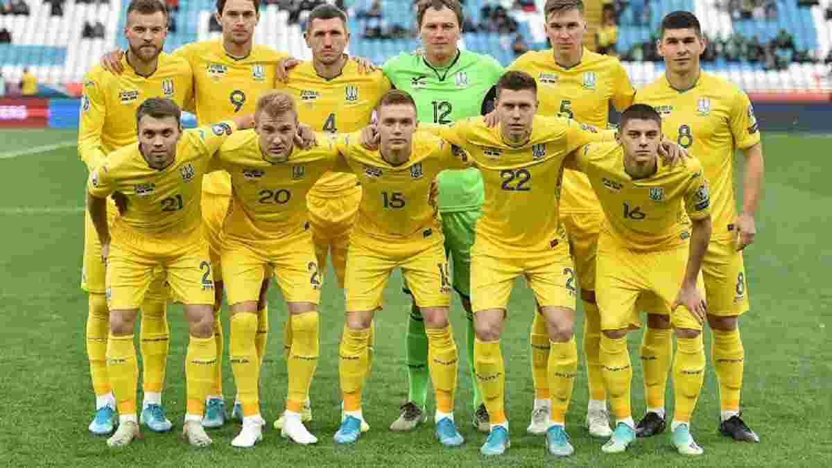 Збірна України зберегла місце у топ-25 найсильніших команд рейтингу ФІФА