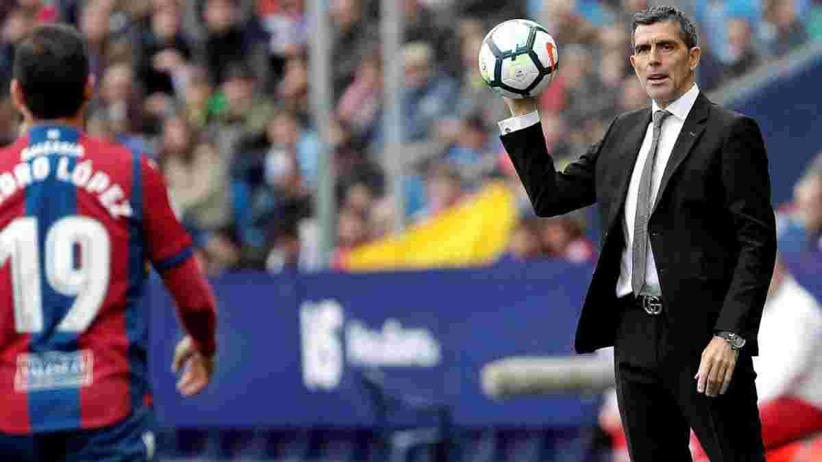Алавес офіційно звільнив Лопеса Муньїса – екс-тренер Дніпра пробув на посаді 2,5 тижні