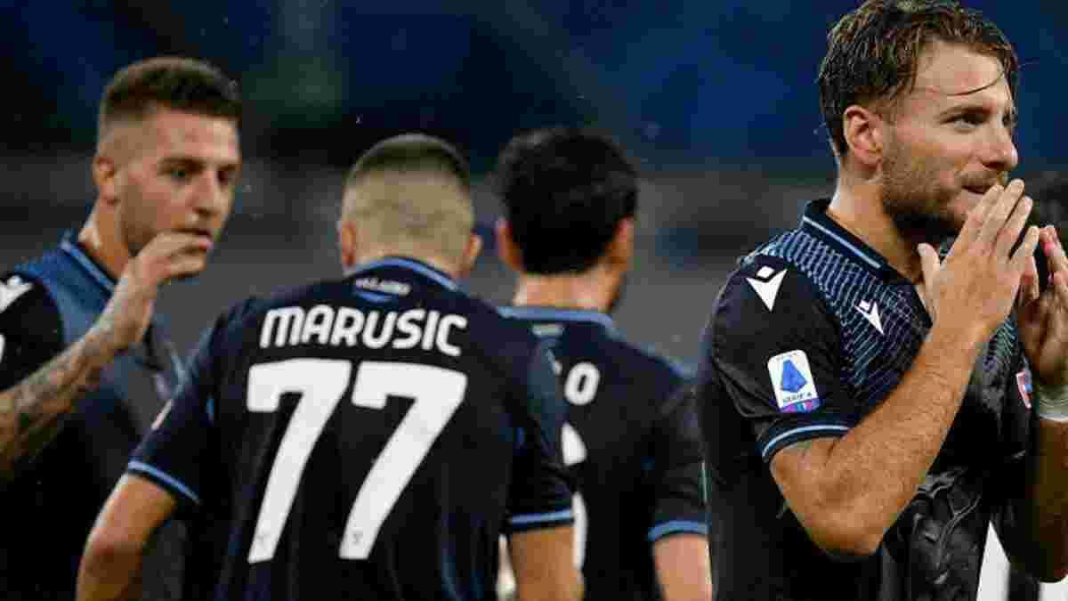 Гол Іммобіле і повторення  бомбардирського рекорду Італії у відеоогляді матчу Наполі – Лаціо