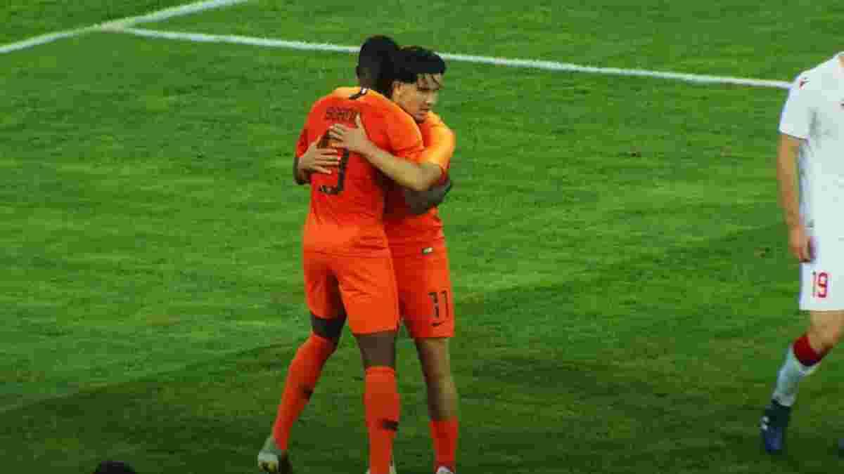 Нідерланди U-21 розгромили однолітків з Білорусі – п'ять з семи голів забили майбутні суперники Динамо у Лізі чемпіонів