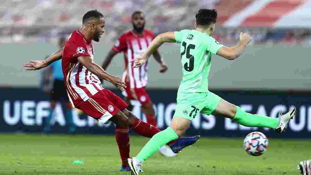 Олимпиакос – Омония – 2:0 – видео голов и обзор матча Лиги чемпионов