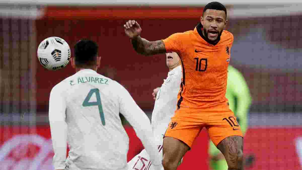 Нідерланди несподівано поступилися Мексиці у дебютному матчі де Бура, Австрія вирвала перемогу в Греції
