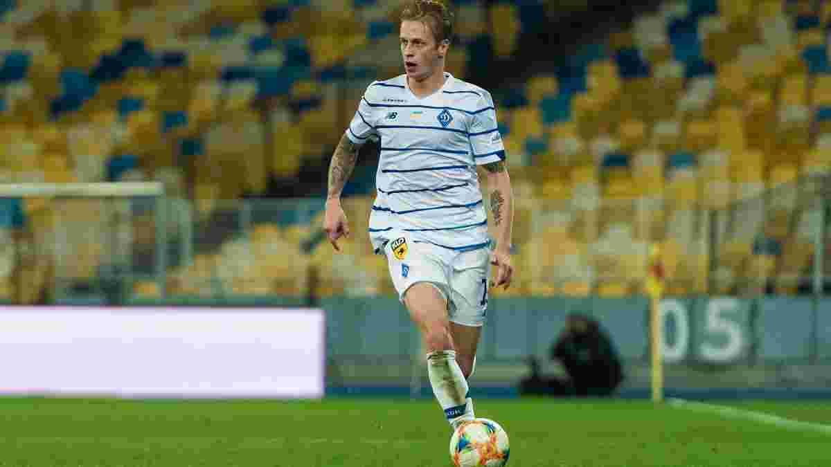 Шабанов розкрив поведінку Сидорчука в роздягальні Динамо після вилучення