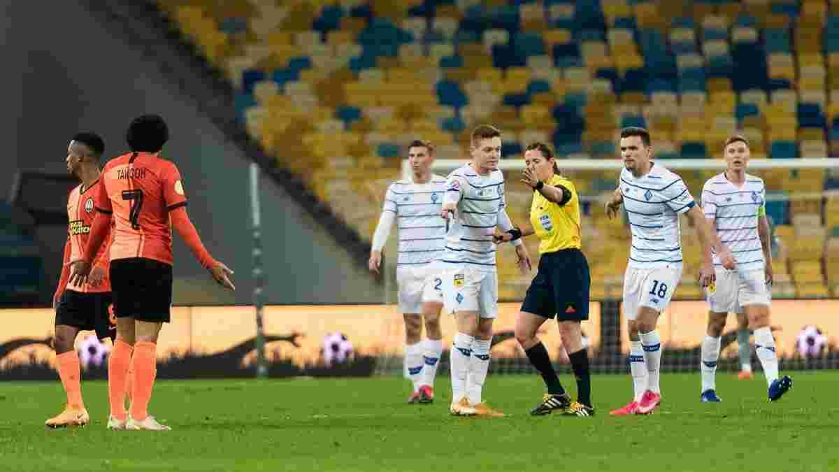 Динамо повторило свой антирекорд в матчах с Шахтером