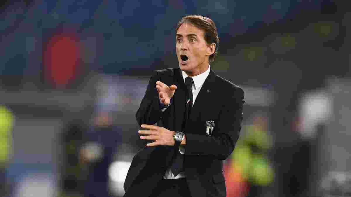 Манчіні екстрено довикликав трьох гравців у збірну Італії – всі дебютанти