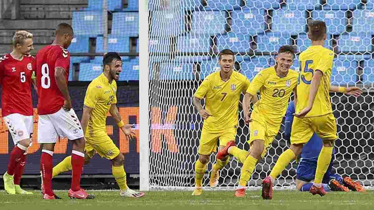 Україна U-21 розгромила Мальту U-21 завдяки дебютним голам Кухаревича, Мілованова та Шевцова