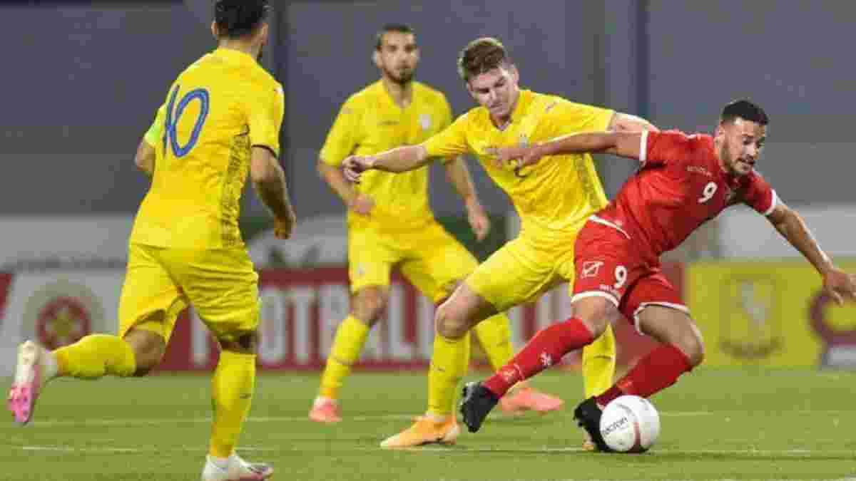 Мальта U-21 – Украина U-21 – 1:4 – видео голов и обзор матча