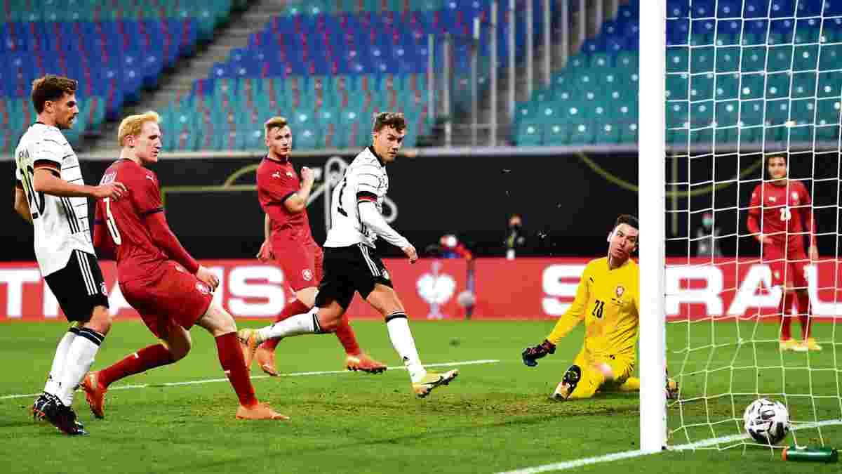 Германия перед матчем с Украиной обыграла Чехию – обескровленный состав, MVP из Гладбаха и полезные дебютанты