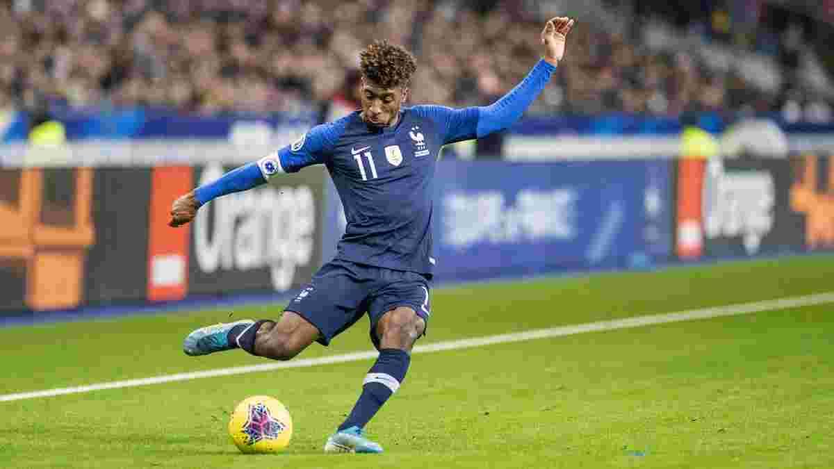 Коман получил повреждение на тренировке сборной Франции