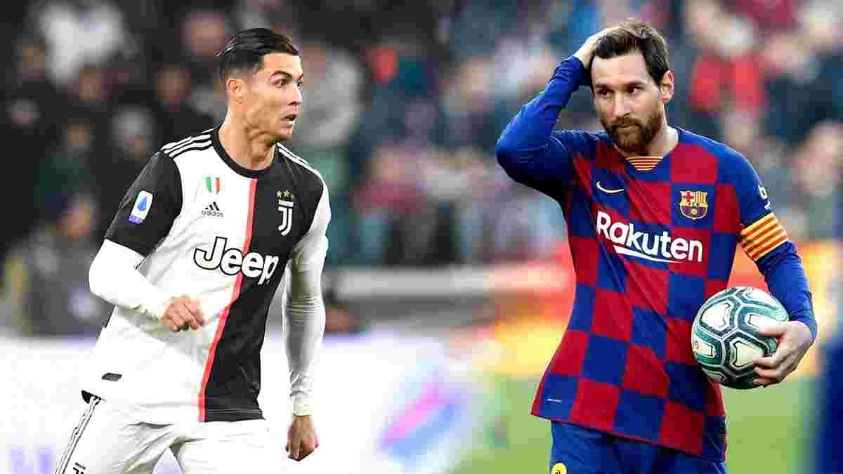 Мессі і Роналду –лідери за кількістю промахів з пенальті у XXI столітті