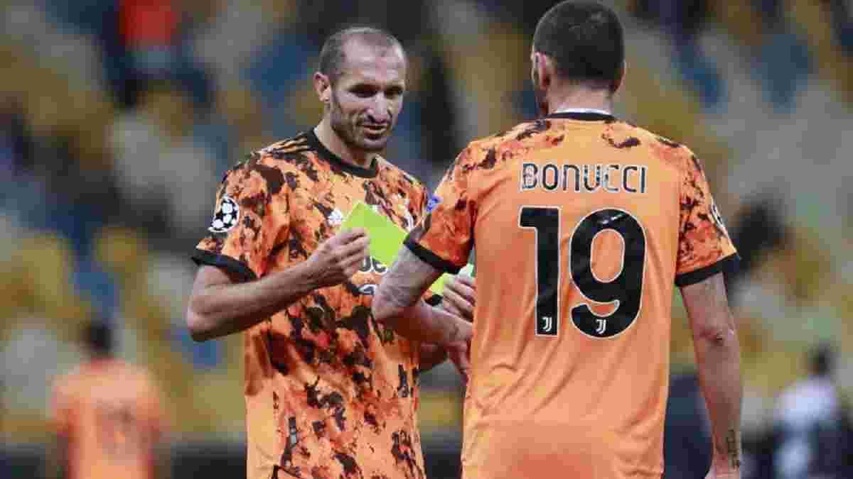 Кьеллини не поможет Ювентусу в матче против Динамо