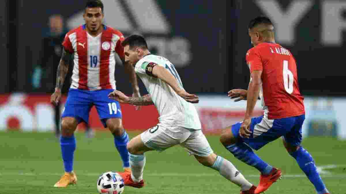 Відбір на ЧС-2022: Аргентина вперше втратила очки, гол Мессі скасували