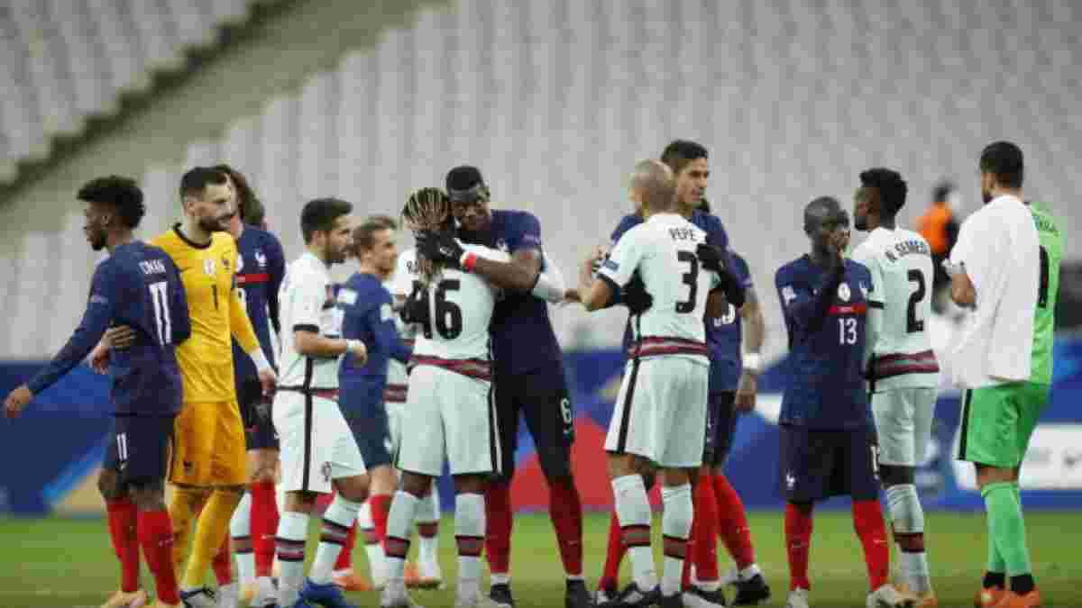 Португалія – Франція: онлайн-трансляція матчу Ліги націй