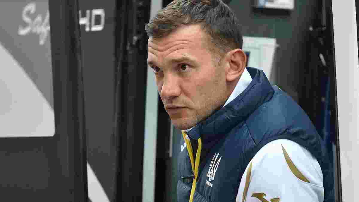 Шевченко прокомментировал очередную вспышку COVID-19 в сборной Украины перед матчем Лиги наций против Германии