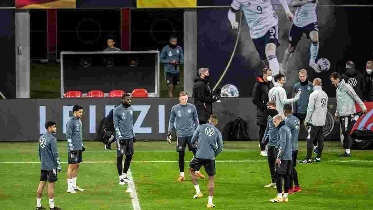Німеччина дізналась результати тестування на COVID-19 перед матчем з Україною