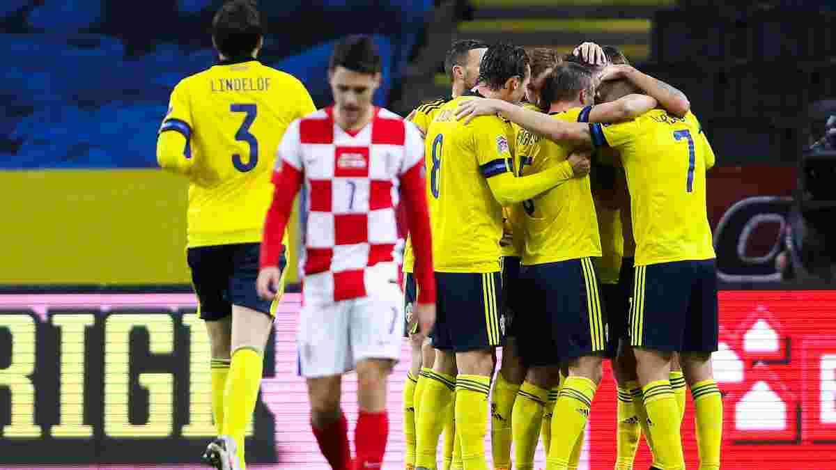 Ліга націй: Швеція втримала перемогу над Хорватією, Жерсон сенсаційно програв на Кіпрі, вилучення від Монзуль