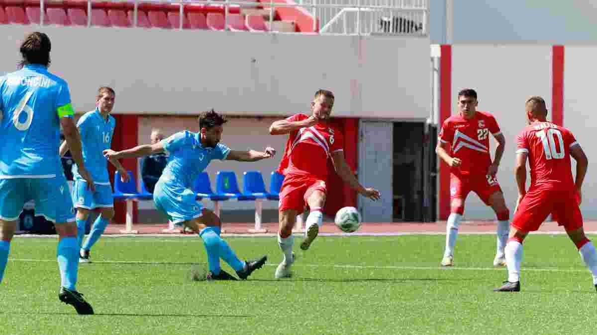 Дебютне вилучення від Монзуль у відеоогляді матчу Сан-Маріно – Гібралтар