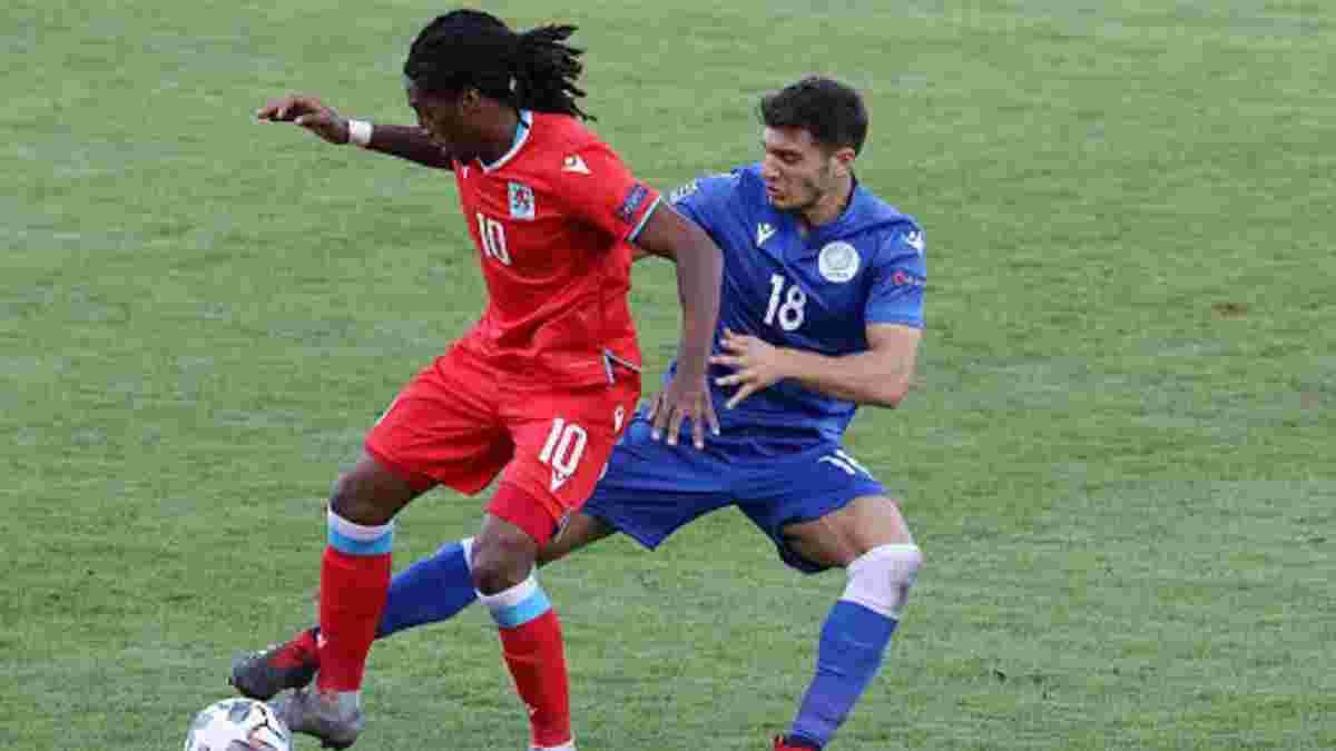 Фіаско Родрігеса і компанії у відеоогляді матчу Кіпр – Люксембург