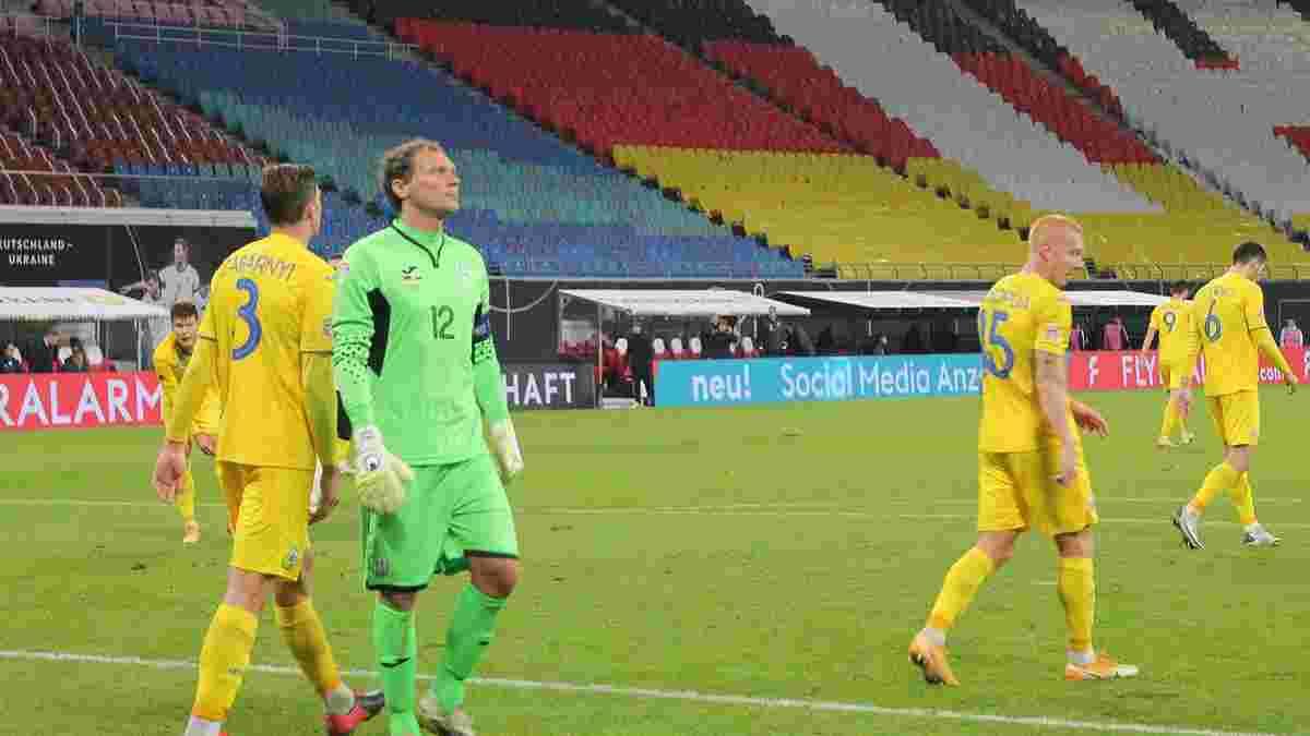 Пятов стал рекордсменом сборной Украины по количеству пропущенных голов – Шовковский остался позади