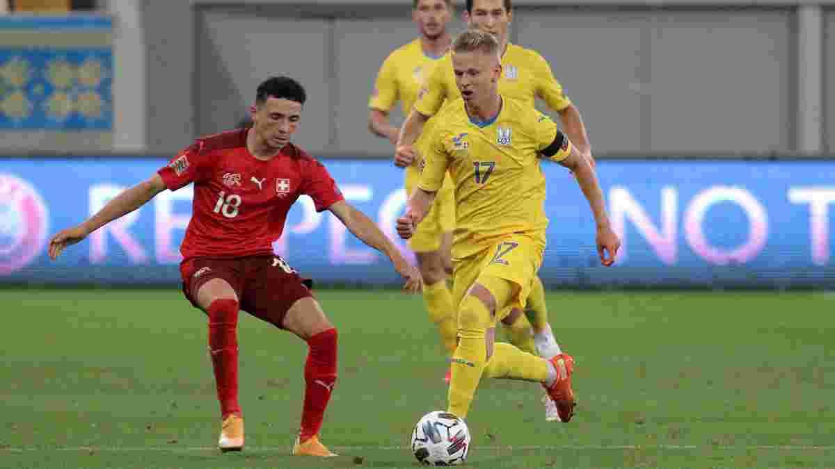 Швейцария – Украина: анонс матча Лиги наций УЕФА