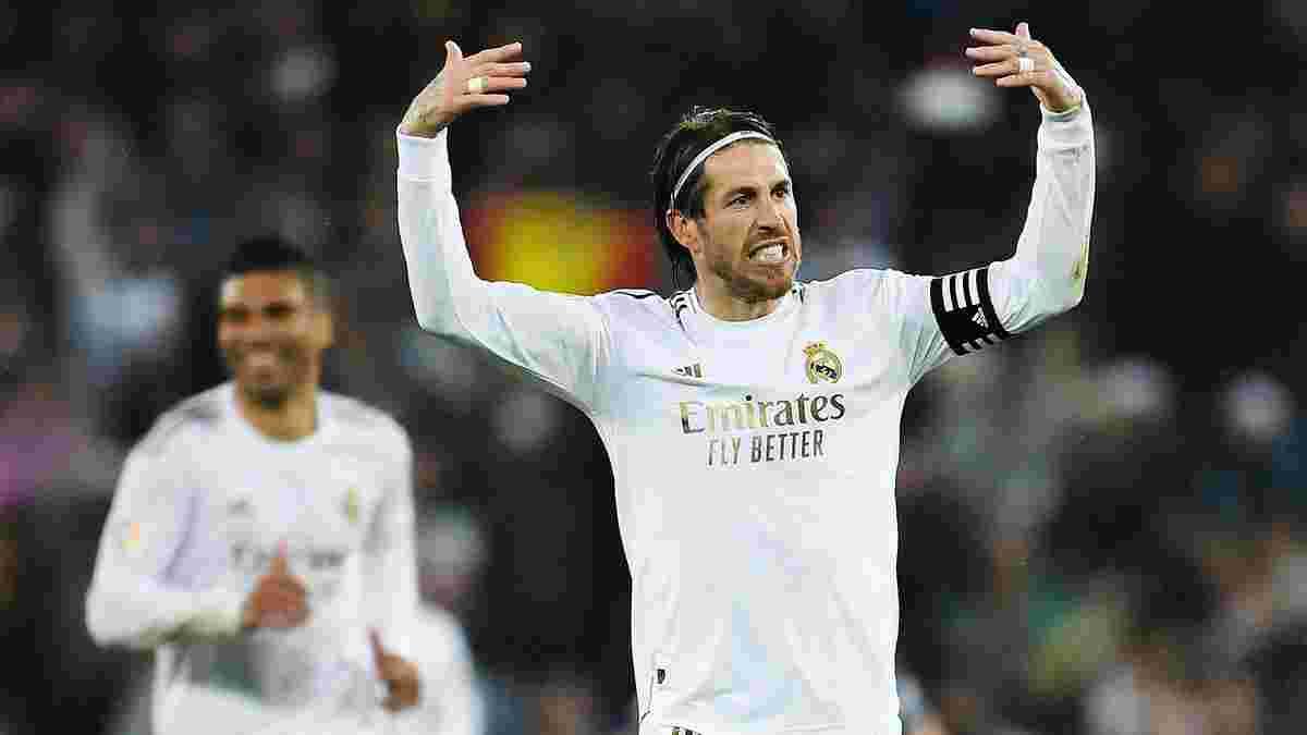 Рамос отримав від Реала дозвіл шукати новий клуб