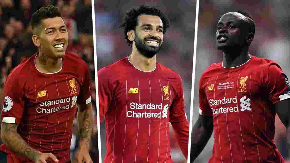 Ліверпуль готовий продати когось із тріо Фірміно-Мане-Салах, щоб завадити трансферним планам Реала