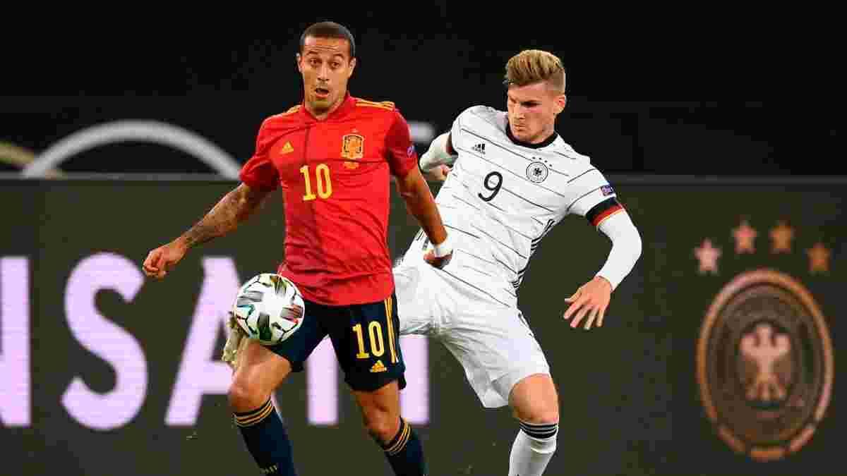 Іспанія – Німеччина: онлайн-трансляція матчу Ліги націй