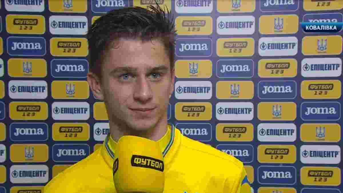 """""""Україна U-21 грала в британському стилі"""": Ісаєнко – про дебютний гол та погром Північної Ірландії"""
