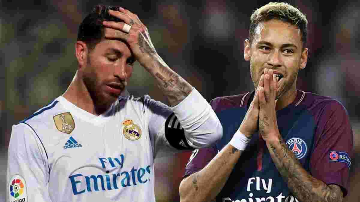 Неймар лично уговаривает Рамоса перейти в ПСЖ и уже дал капитану Реала амбициозное обещание