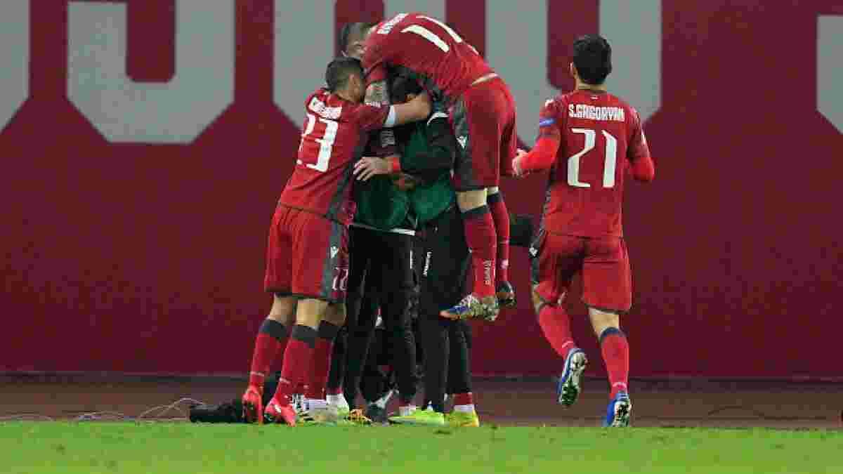Поражение соперника сборной Украины в видеообзоре матча Армения – Северная Македония – 1:0