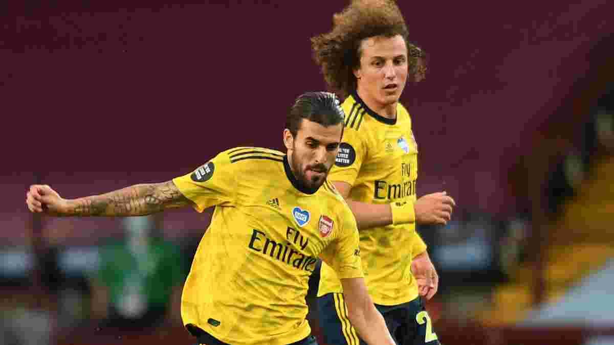 Артета підтвердив факт бійки між Себальйосом та Луїсом – тренер Арсенала обурений