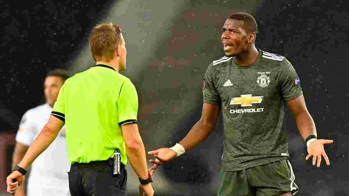 Погба не попал в заявку Манчестер Юнайтед на матч АПЛ