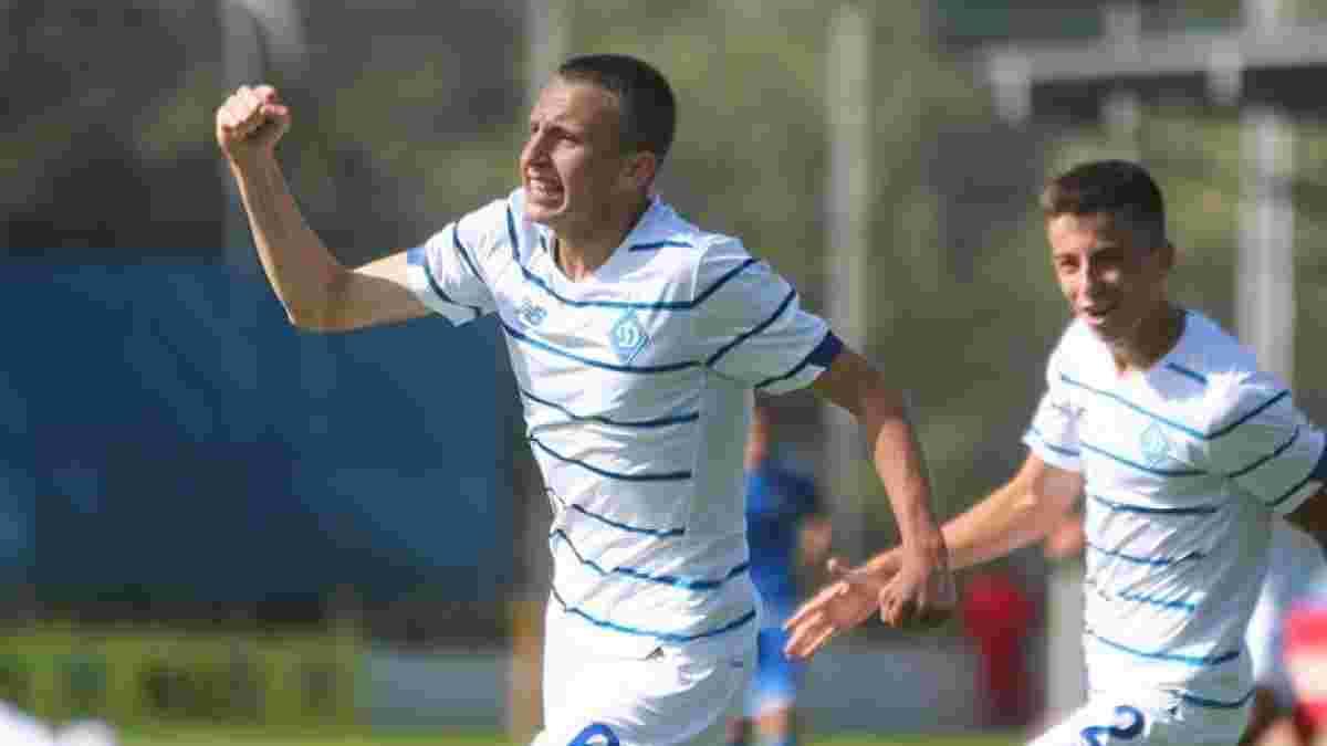 Талант Динамо отметился голом а-ля Месси в матче молодежного первенства