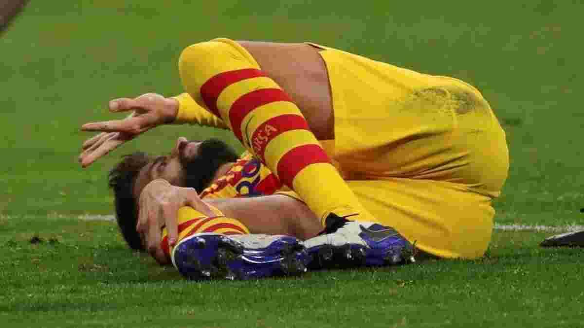 Жахливий діагноз для Піке і Серхі Роберто – Барселона залишилась з одним центрбеком перед Динамо