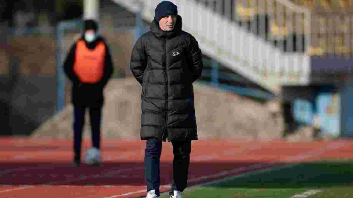 """""""Треба було спрямовувати емоції на поле, а не на суддів"""": тренер СК Дніпро-1 пояснив поразку від Миная"""