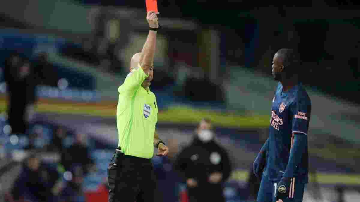 Пепе отримав вилучення за удар суперника головою – відео брутального фолу нападника Арсенала