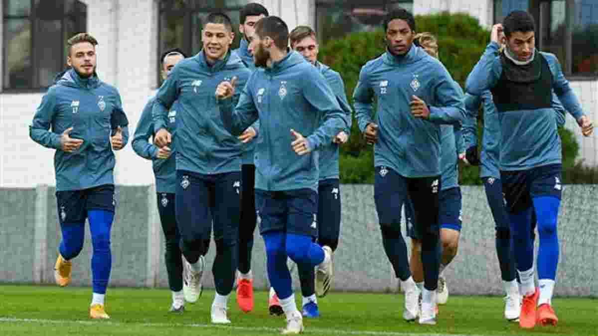 Динамо – Барселона: на тренуванні киян були присутні 24 гравці – в обойму повернулись двоє голкіперів