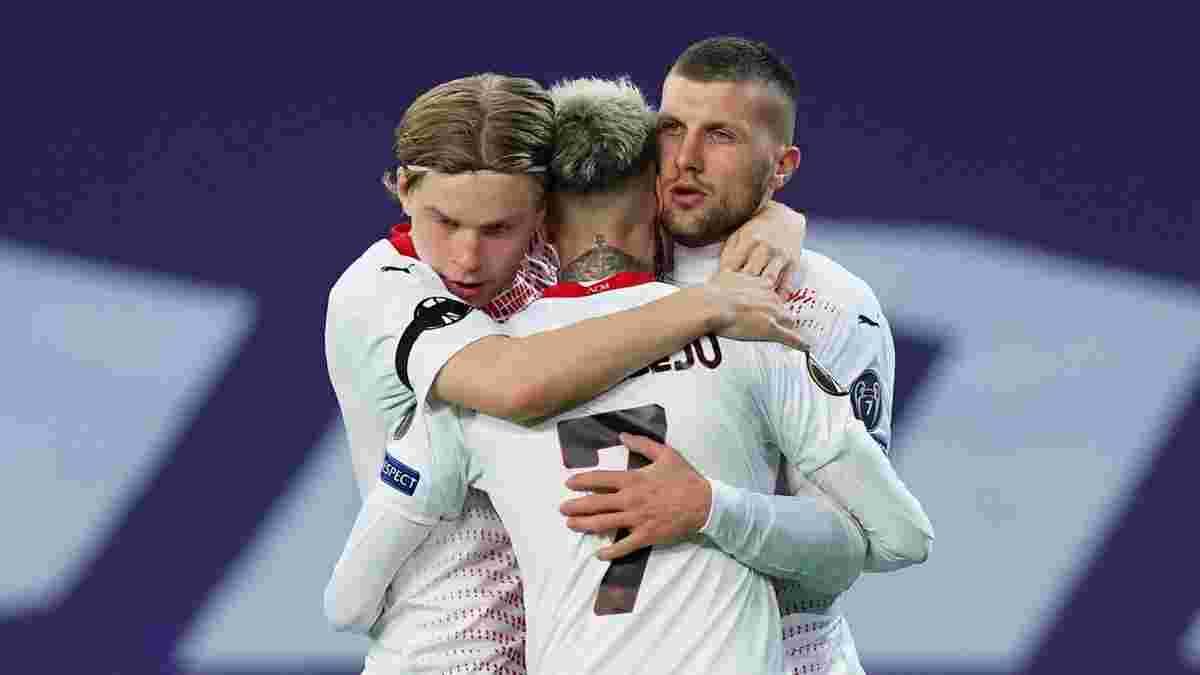 Лилль – Милан – 1:1 – видео голов и обзор матча