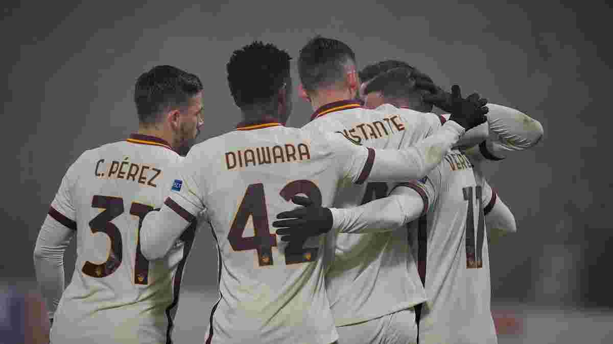 Лига Европы: Фонсека досрочно вывел Рому в плей-офф, Рейнджерс упустили победу над Бенфикой, ливень красивых голов